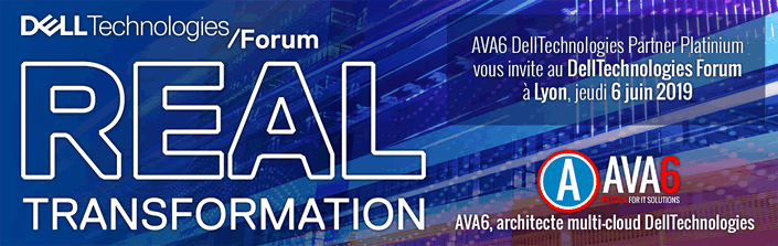 Invitation forum DellTechnologies - 6 juin 2019